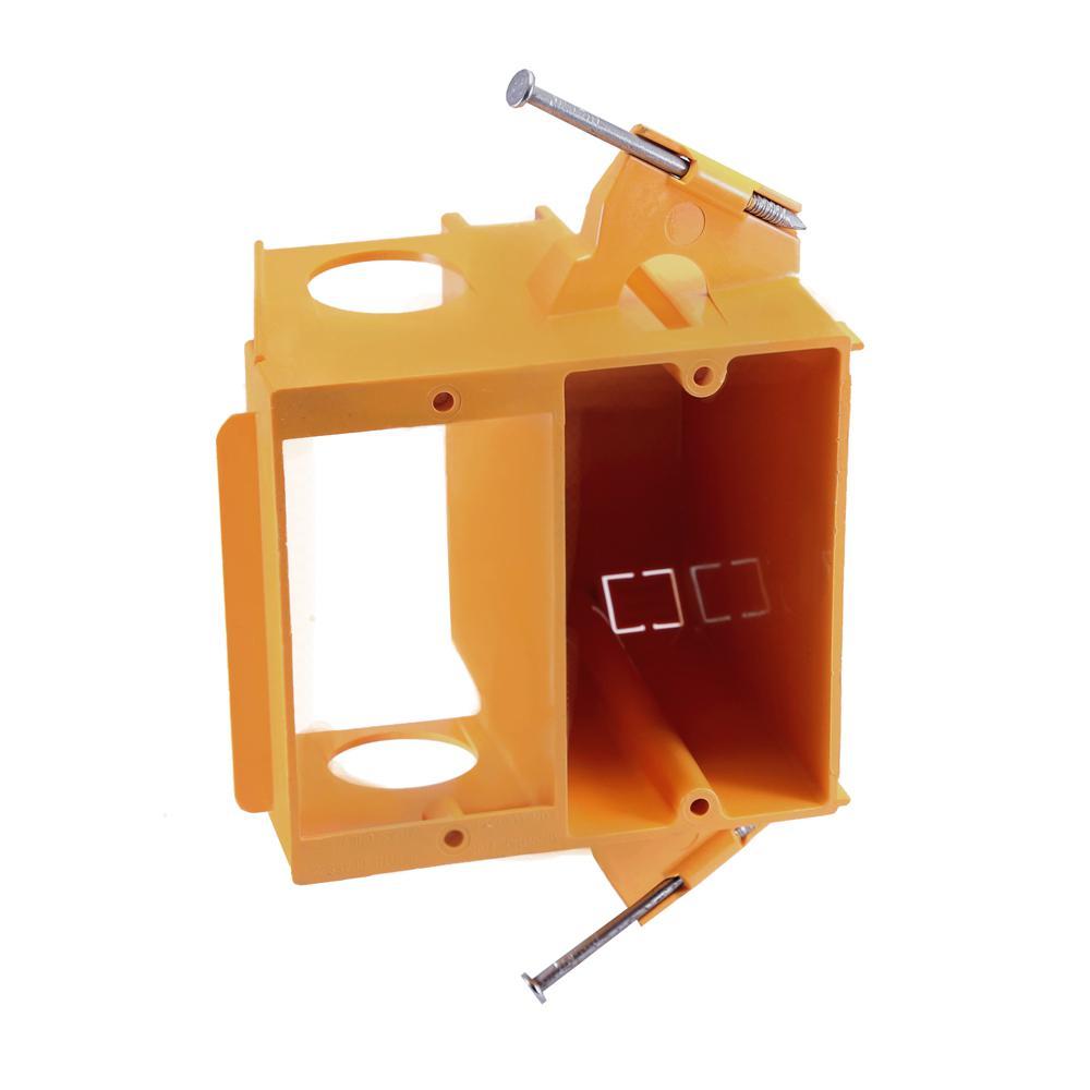 2-Gang Dual Voltage Box Bracket