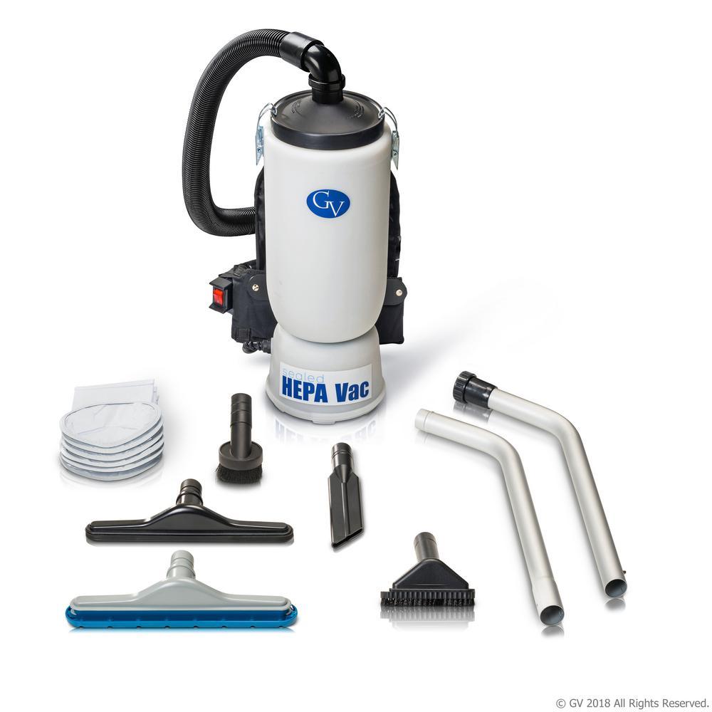 Lightweight Backpack Hepa Vacuum Cleaner With Tool Kit