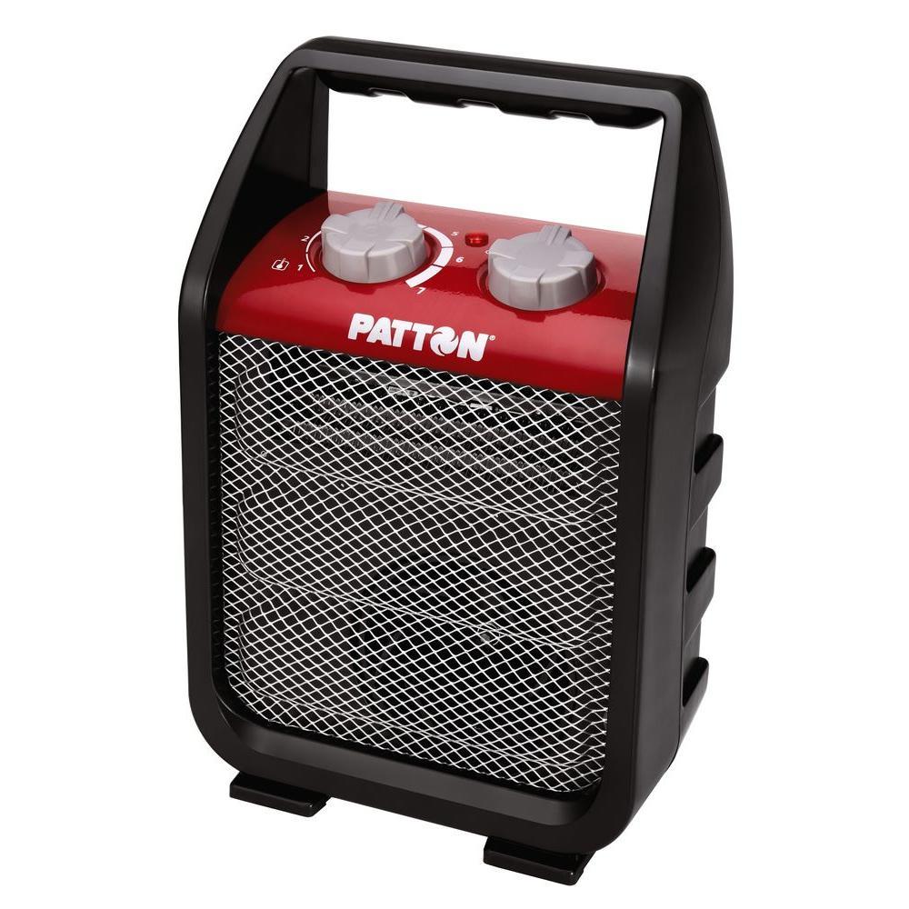 patton 1500 watt recirculating portable utility heater puh4842m rhm dim the home depot  patton milkhouse space heater model