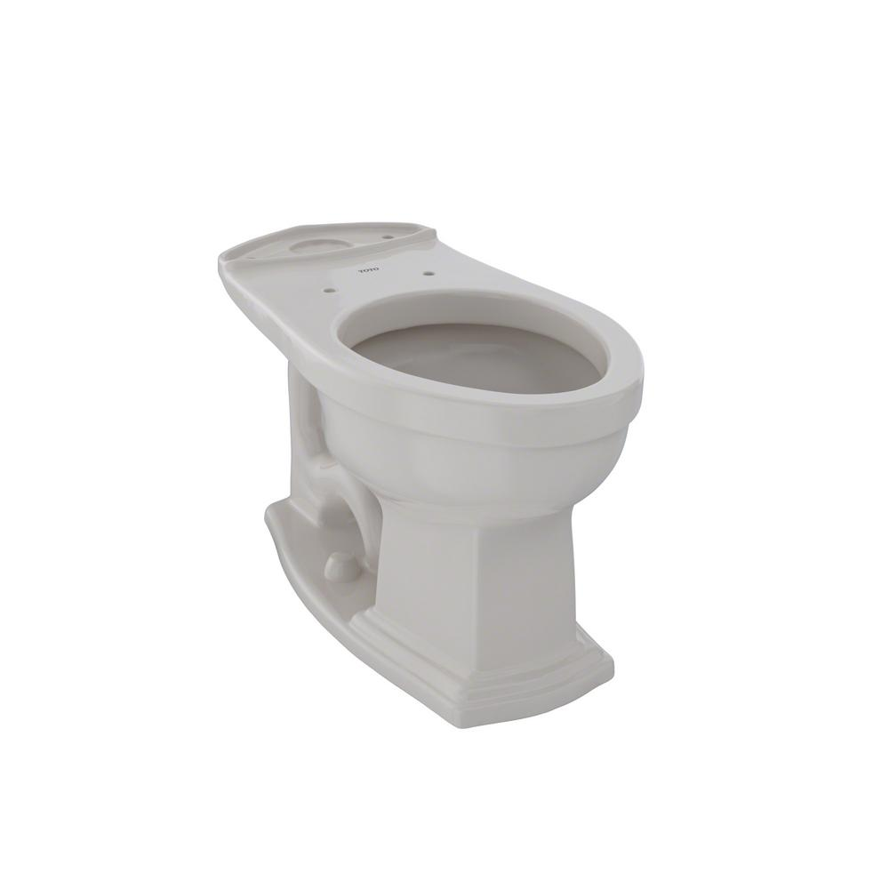 Toto Eco Clayton Elongated Toilet Bowl Only In Sedona
