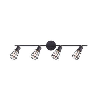 Loft 33.25 in. 4-Light Oil Rubbed Bronze Track Lighting Kit