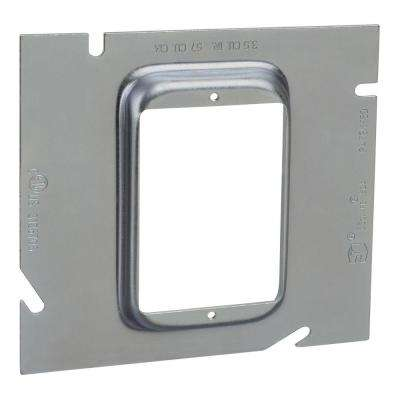 1-Gang 1/2 in. 5-Square Metal Electrical Box Extension Ring (20 per Case)