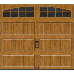Clopay gallery collection 8 ft x 7 ft 18 4 r value for 17 ft garage door