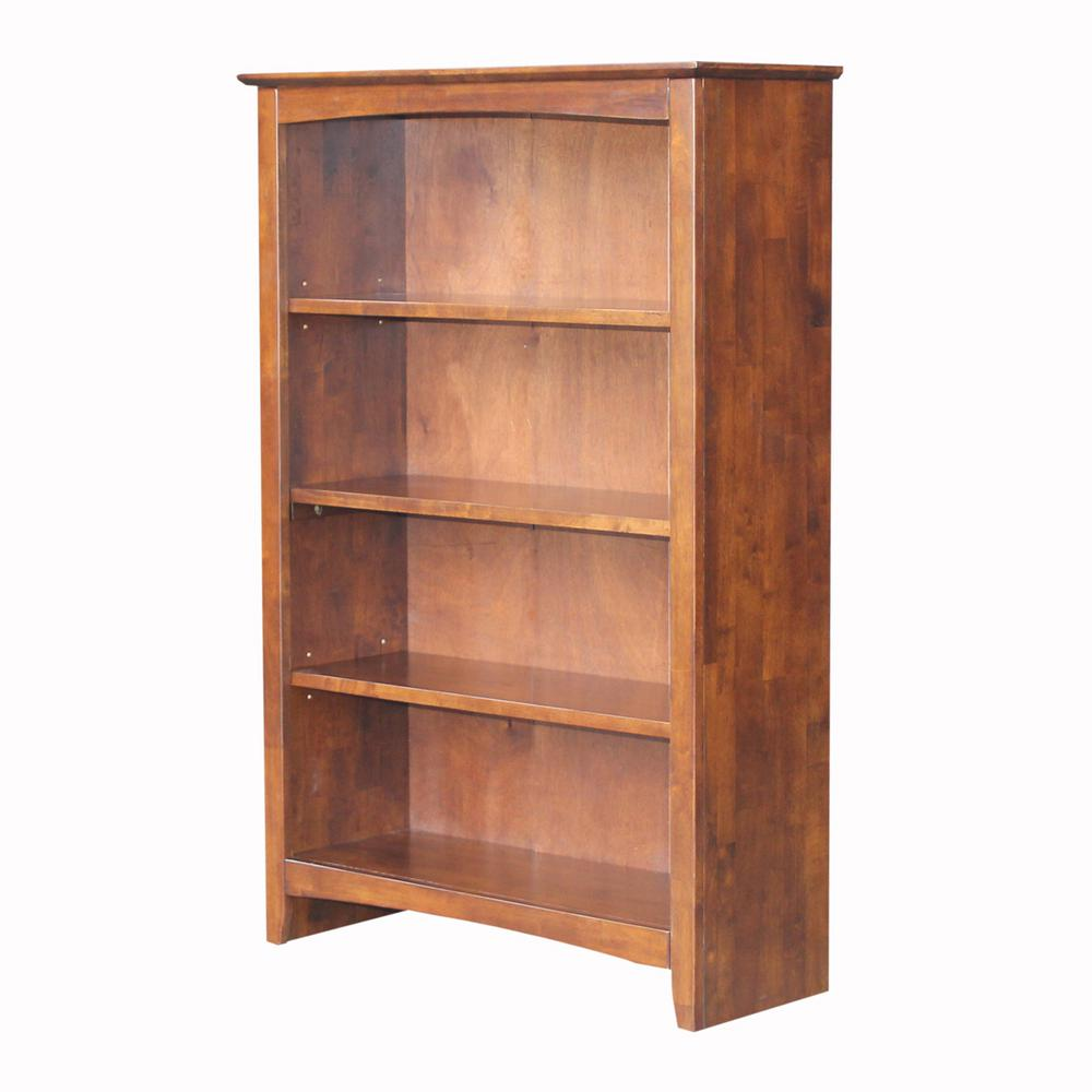 Brooklyn 48 in. Espresso Bookcase