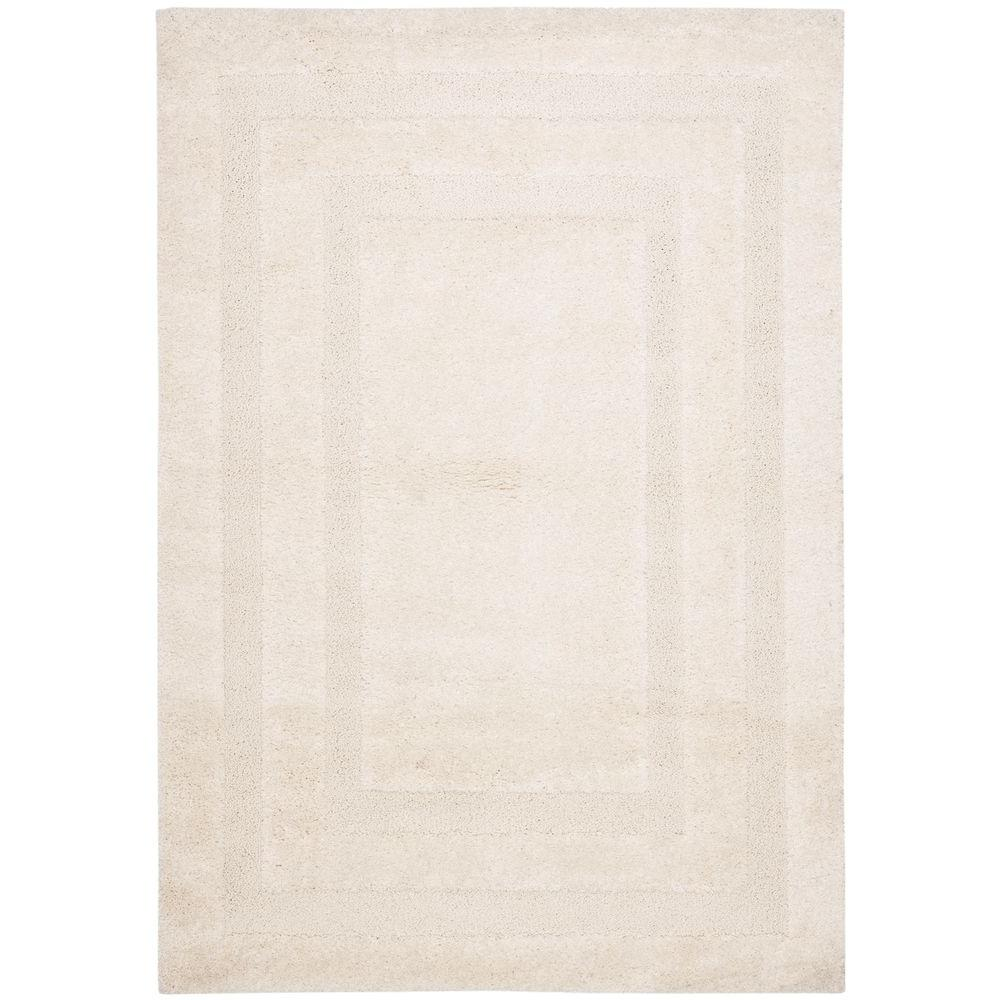 Florida Shag Cream 4 ft. x 6 ft. Area Rug