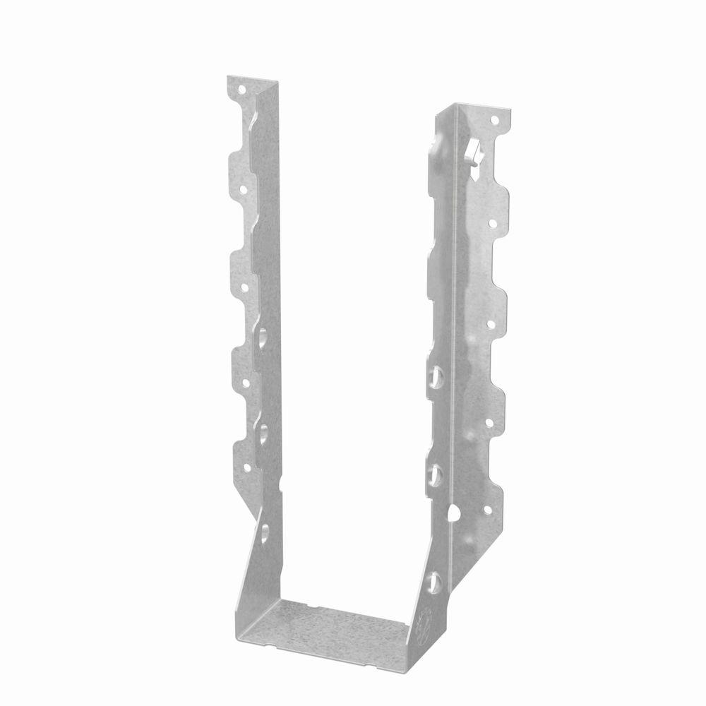 Z-MAX 4 in. x 14 in. Galvanized Double Shear Face Mount