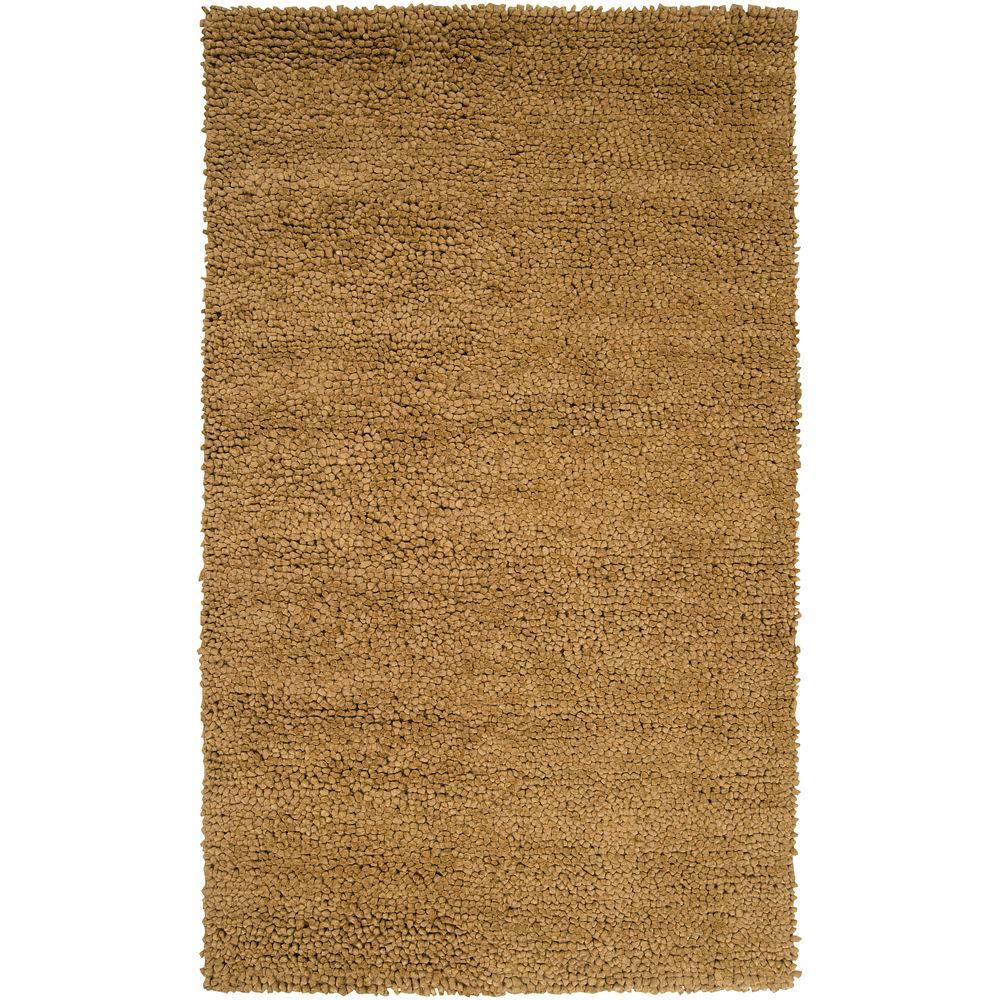 Artistic Weavers Carson Gold 5 ft. x 8 ft. Area Rug