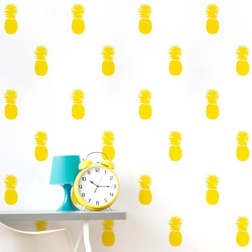 "Adzif ""Pineapple Express"" Kids Wall Decal (2-Sheets)"