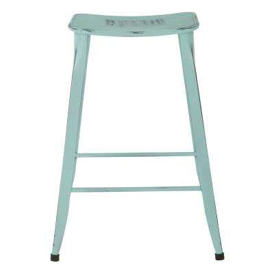 "Durham 26"" Counter Stool in Antique Sky Blue - 2 Pack"