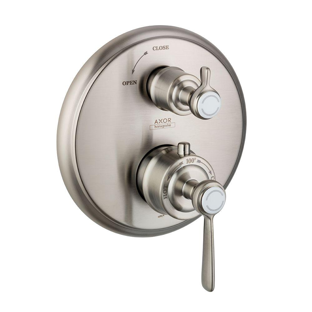 Hansgrohe Axor Montreux 2-Handle Thermostatic Valve Trim Kit with ...