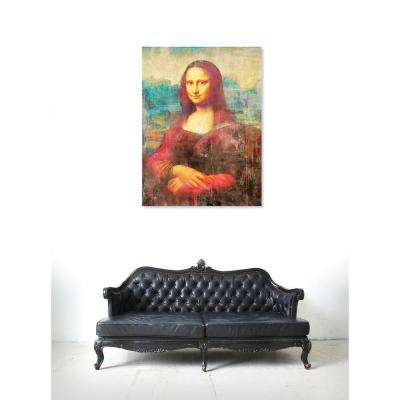 13 in. x 16 in. 'SAI - Mona de Rouge' by Oliver Gal Printed Framed Canvas Wall Art