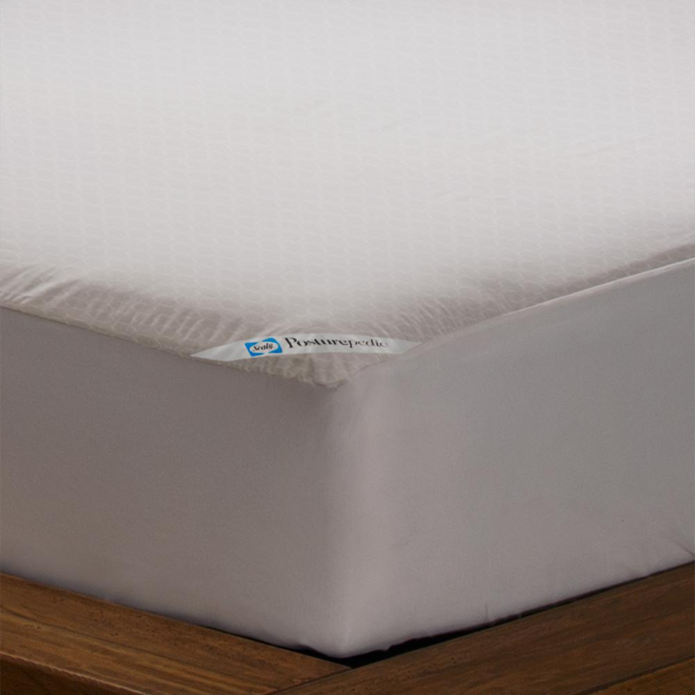 Sealy Allergy Protection Waterproof Polyester Zippered King Mattress Protector