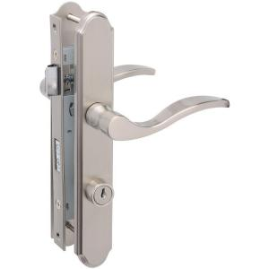 Wright Products Satin Nickel Serenade Mortise Set Door