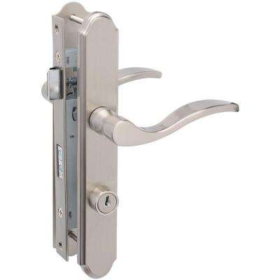 Satin Nickel Serenade Mortise Set Door Latch