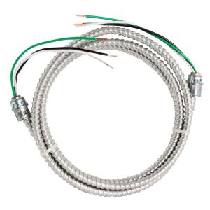 Southwire 8 Ft 12 2 Stranded Cu Mc Aluminum Whip 58947601
