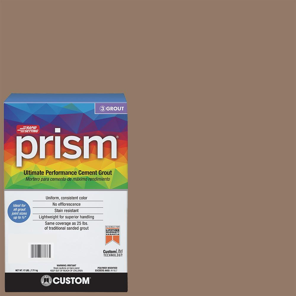 Custom building products prism 105 earth 17 lb grout pg10517t custom building products prism 105 earth 17 lb grout nvjuhfo Image collections