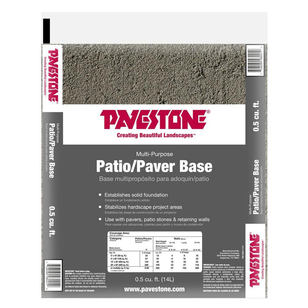 0.5 cu. ft. Paver Base