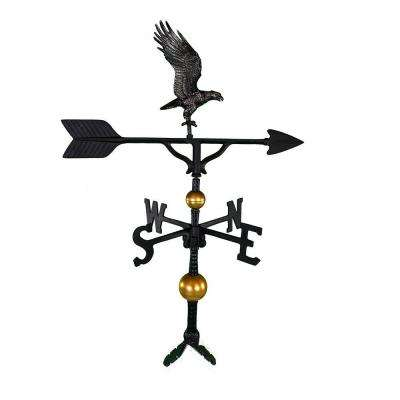 32 in. Deluxe Swedish Iron Full Bodied Eagle Weathervane