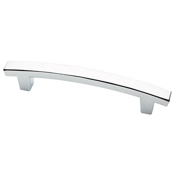 Pierce 4 in. (102mm) Center-to-Center Polished Chrome Drawer Pull