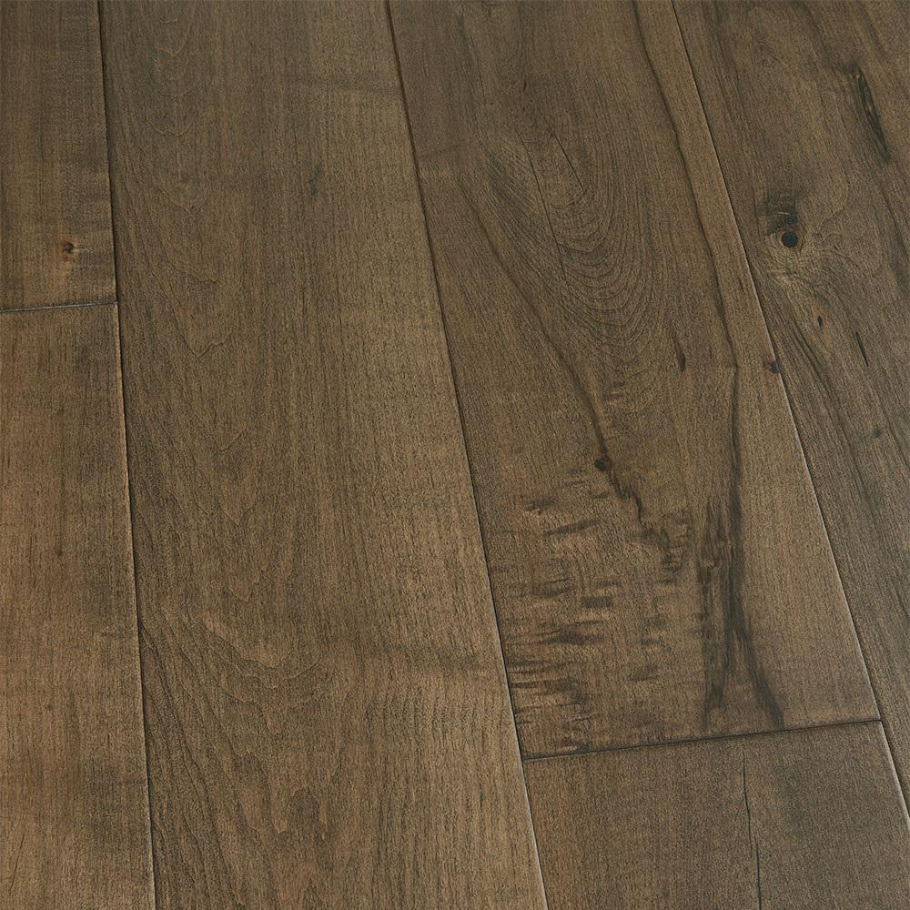 Malibu Wide Plank Take Home Sample Maple Pacifica Engineered Click Hardwood Flooring 5 In. X 7 In.