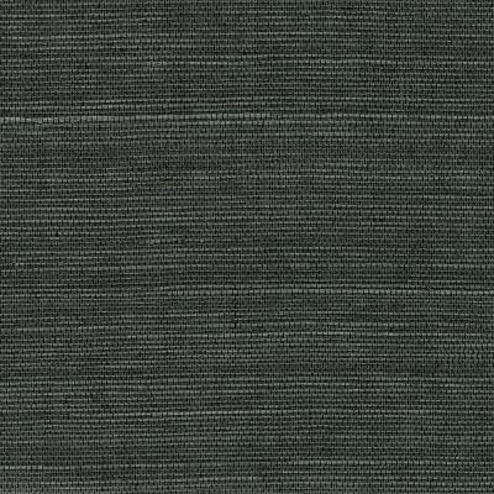 72 sq. ft. Kowloon Charcoal Sisal Grass Cloth Wallpaper