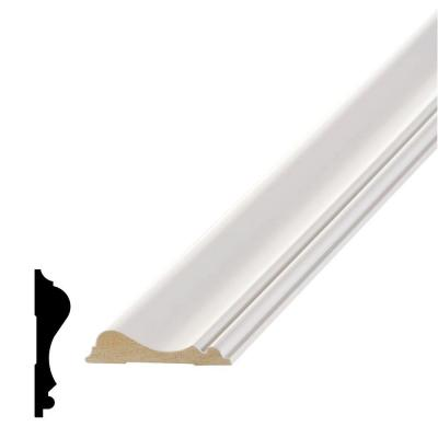 LWM 390 5/8 in. x 2-5/8 in. Primed MDF Chair Rail Moulding
