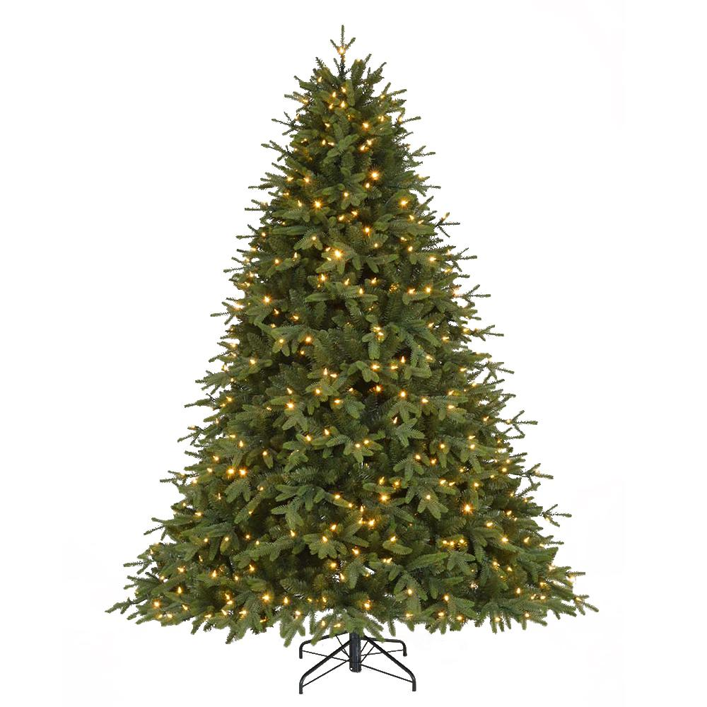 Pre Lit Led Monterey Fir Quick Set Artificial Christmas