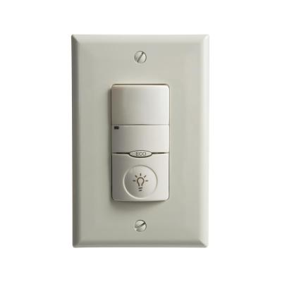 Lithonia Lighting Pir Occupancy 2 Pole Wall Switch Sensor Ivory Wsx 2p Wh The Home Depot