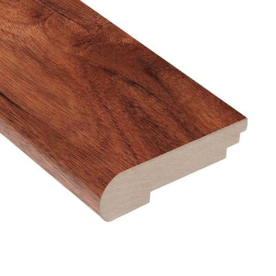Teak Amber Acacia 1/2 in. Thick x 3-1/2 in. Wide x 78 in. Length Stair Nose Molding