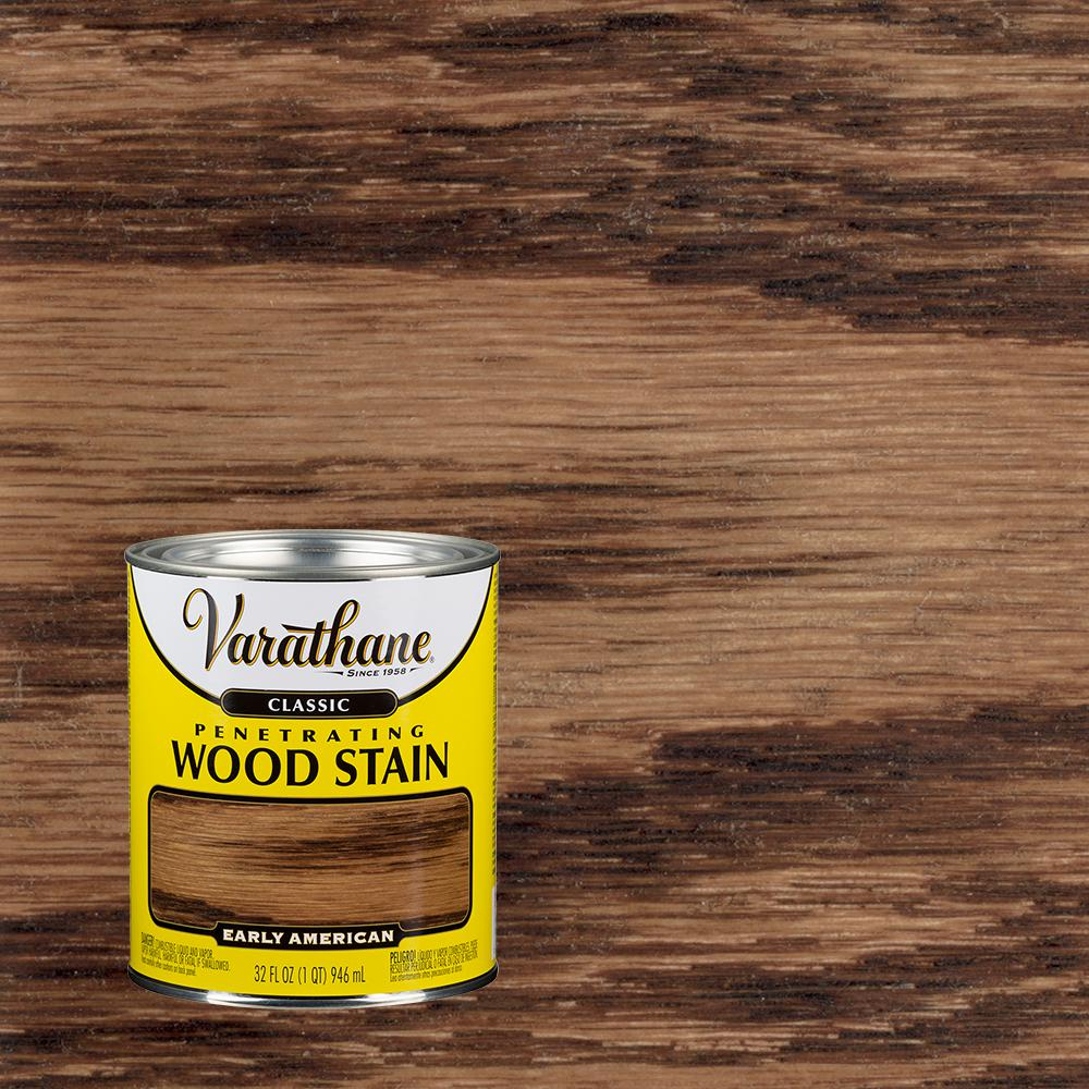 Varathane 1 qt. Early American Classic Wood Interior Stain