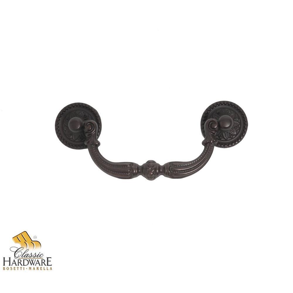 Louis XVI 4.84 in. Oil-Rubbed Bronze Drop Pull